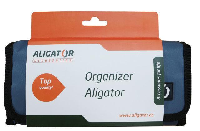 Aligator cestovní organizér (šedý)