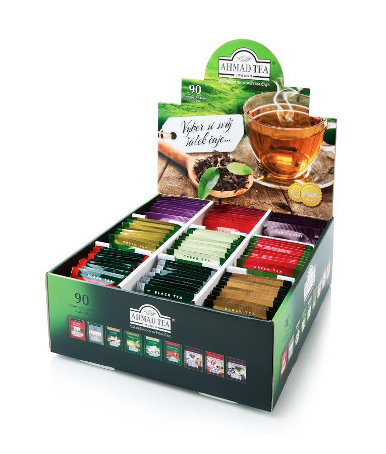 Ahmad AHM71015 zelený a černý čaj (90ks)
