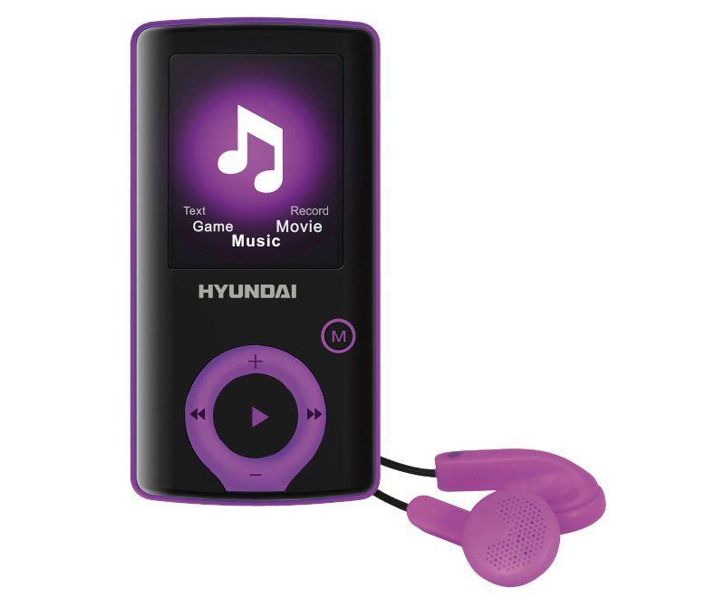 Hyundai MPC 883 FM, 8GB (černo-fialový)