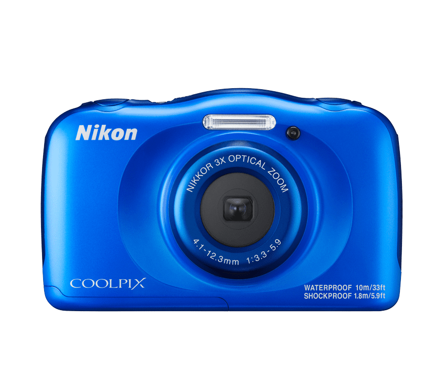 Nikon Coolpix W100 (modrý)