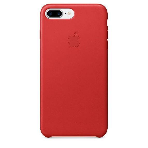 Apple kožené pouzdro na iPhone 7 Plus (červené)