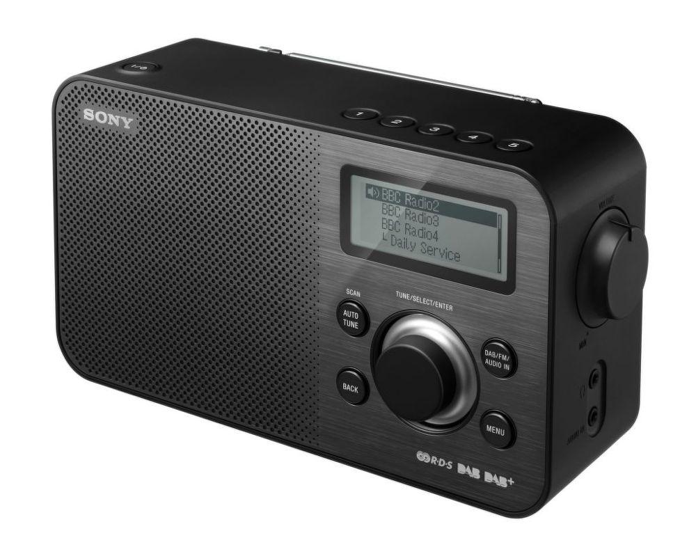 Sony XDR-S60DBP (černé)