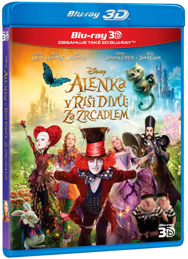 Alenka v říši divů: Za zrcadlem - 3D Blu-ray film (3D+2D)