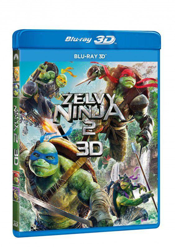 Želvy Ninja 2 - 3D Blu-ray film