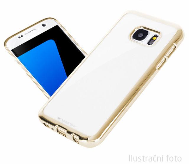 Aligator pouzdro pro Samsung Galaxy J3 2016 (zlatá)