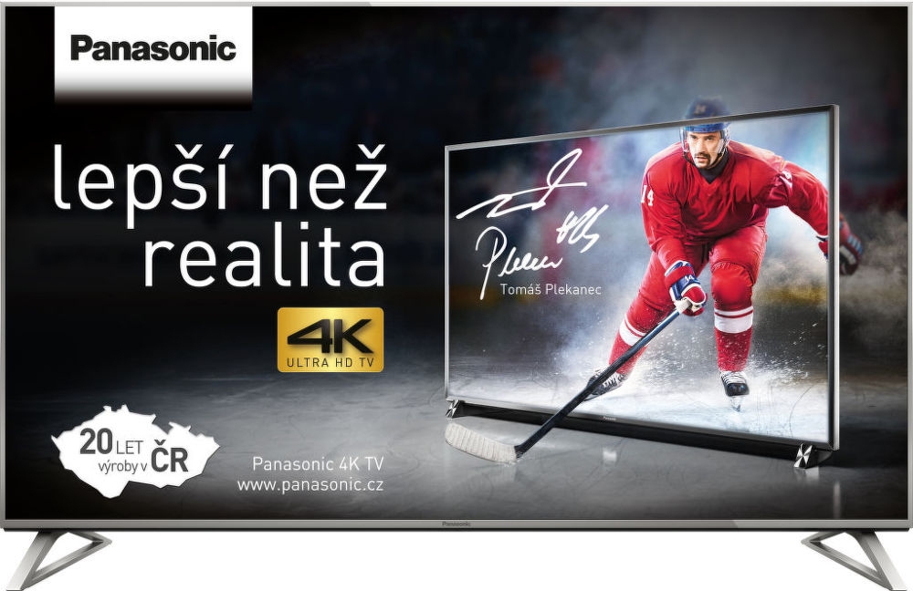 Panasonic TX-58DX730E (stříbrná) + dárek Set 3 DVD filmů zdarma