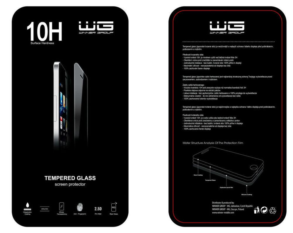 Winner sklo pro Huawei Y6 II