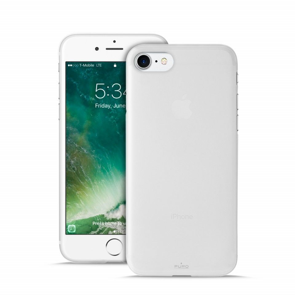 PURO kryt pro Apple iPhone 7 (transparent)