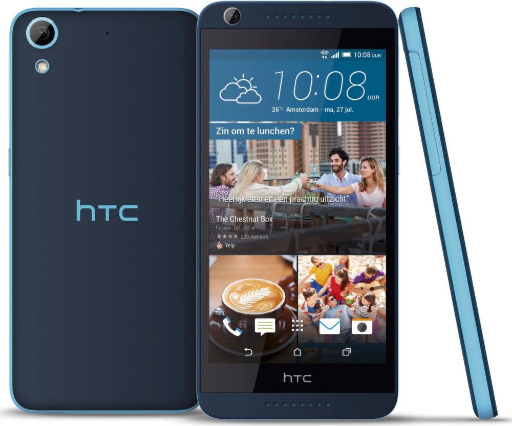 HTC Desire 628 (modrý)