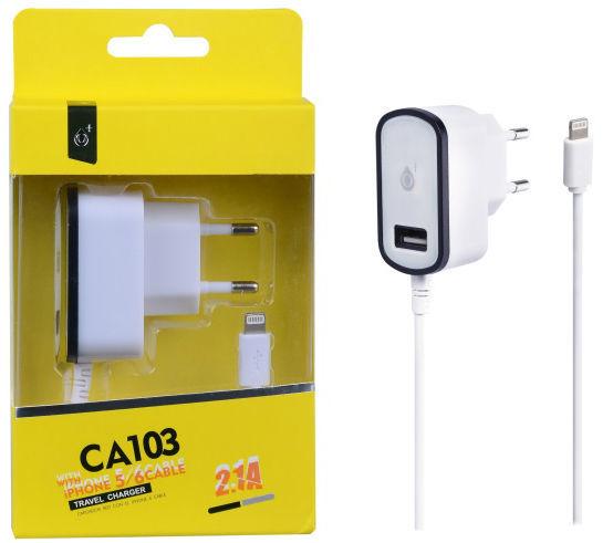Aligator nabíječka pro iPhone 5 s USB 5V/2 RE
