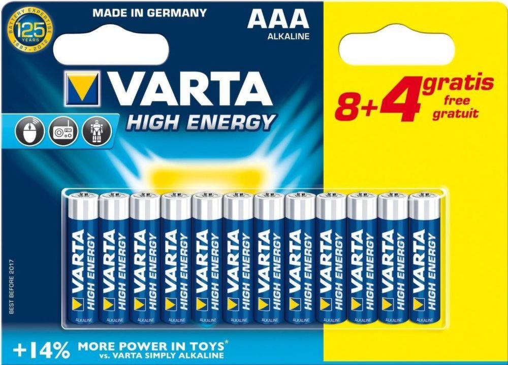 Varta HE AAA 8+4, Baterie
