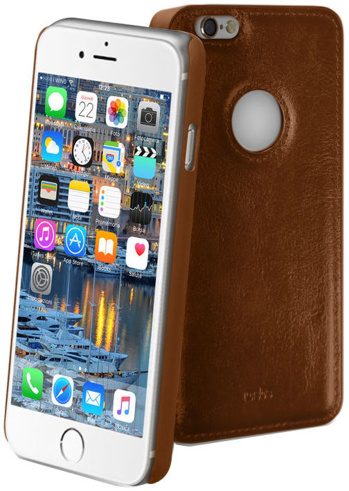 SBS pouzdro pro Apple iPhone 6/6S (Montecarlo hnědé)