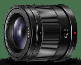 Panasonic Lumix G 42,5mm f/1,7 ASPH Power O.I.S. (černý)