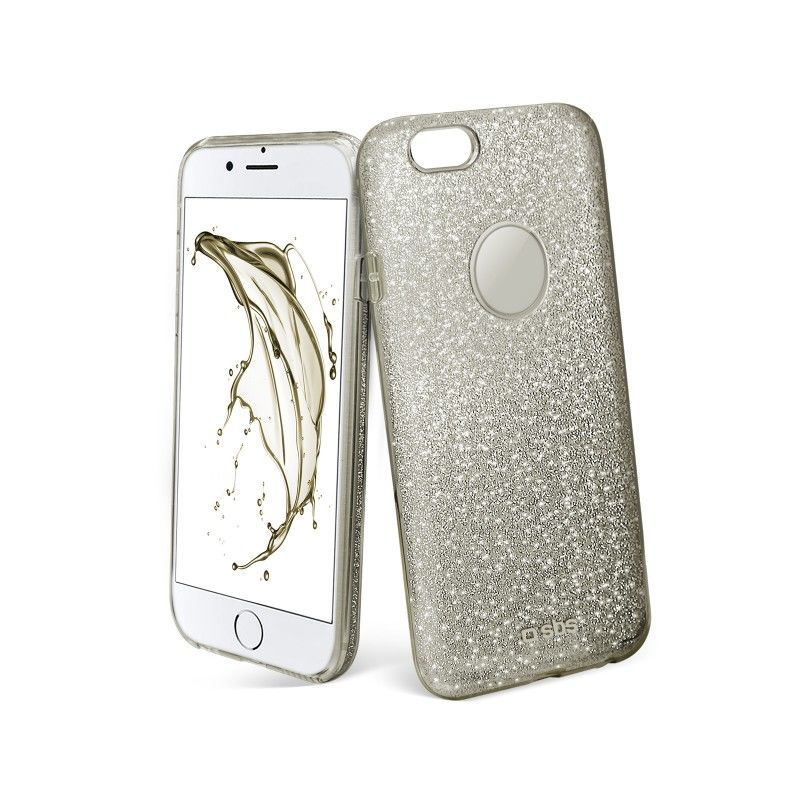 SBS iPhone 7 Pouzdro na mobil (stříbrné)