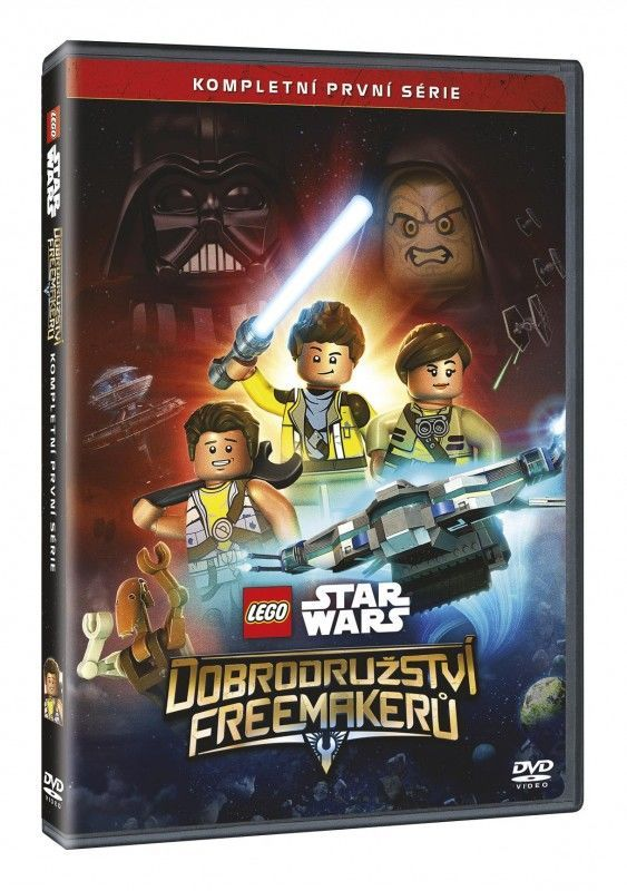 MAGIC BOX Lego Star Wars Dobrodružství Freemakerů - DVD film