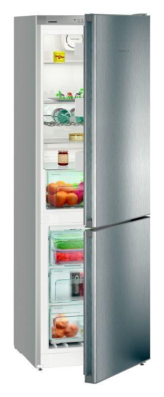 LIEBHERR Cnel 4313 (nerez) - kombinovaná lednice