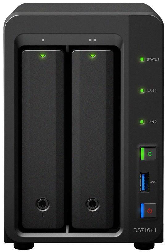 SYNOLOGY DS716+II, NAS