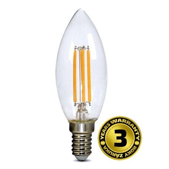 Solight WZ401A 4W E14, LED žárovka