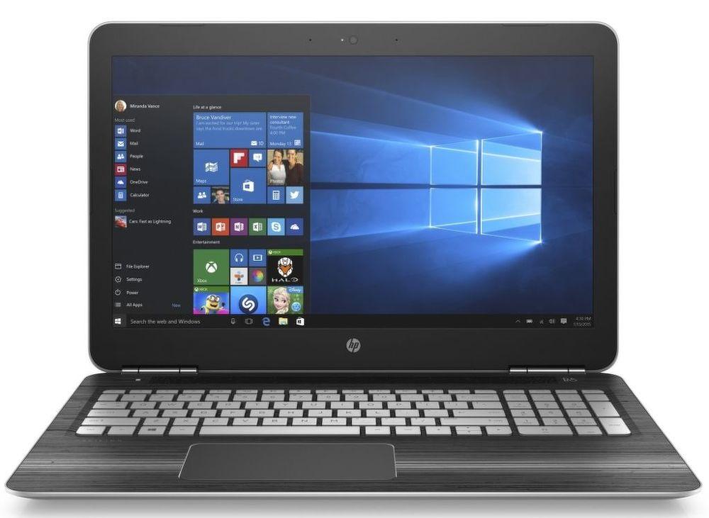 HP Pavilion Gaming 15-bc200nc, 1GM75EA (stříbrný) + dárek eScan Internet Security Suite Antivirový software na 90 dní zdarma