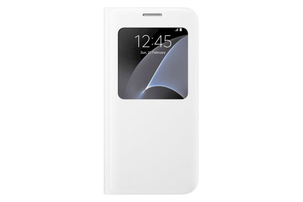 SAMSUNG Flipové pouzdro S View pro Galaxy S7 (bílá)