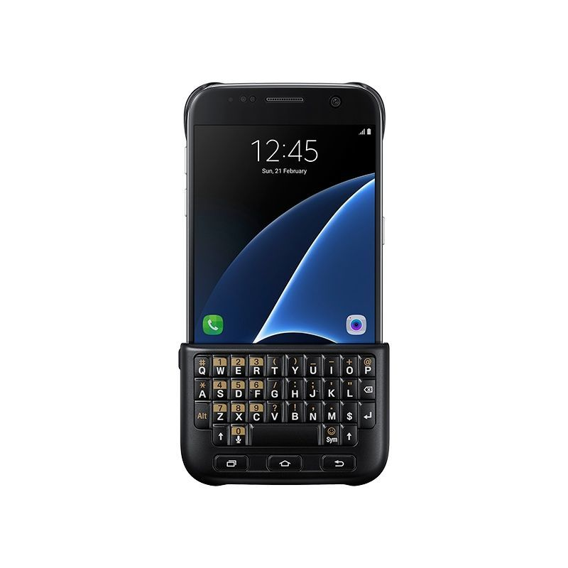 SAMSUNG Zadní kryt s klávesnicí pro Galaxy S7 (černá)