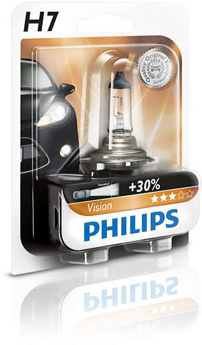 Philips H7 Vision, Autožárovka