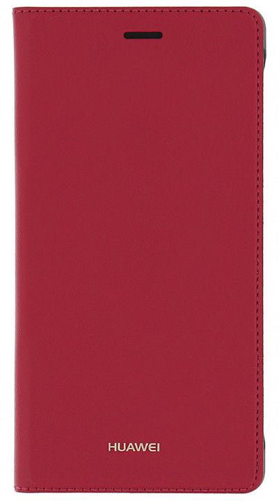 Huawei P8 Lite červené pouzdro na mobil
