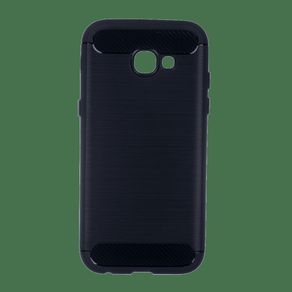 Winner Galaxy A5 2017 Carbon černé pouzdro na mobil