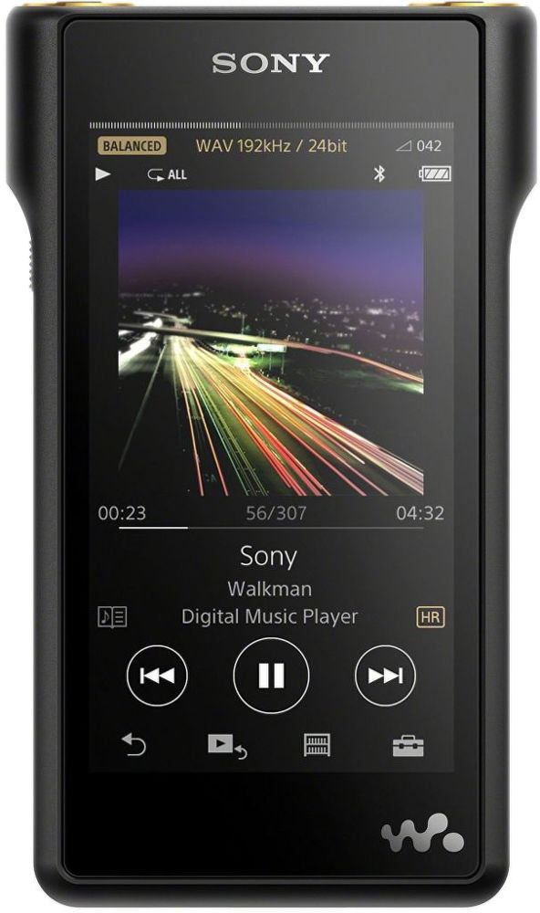 Sony NW-WM1AB 128GB černý