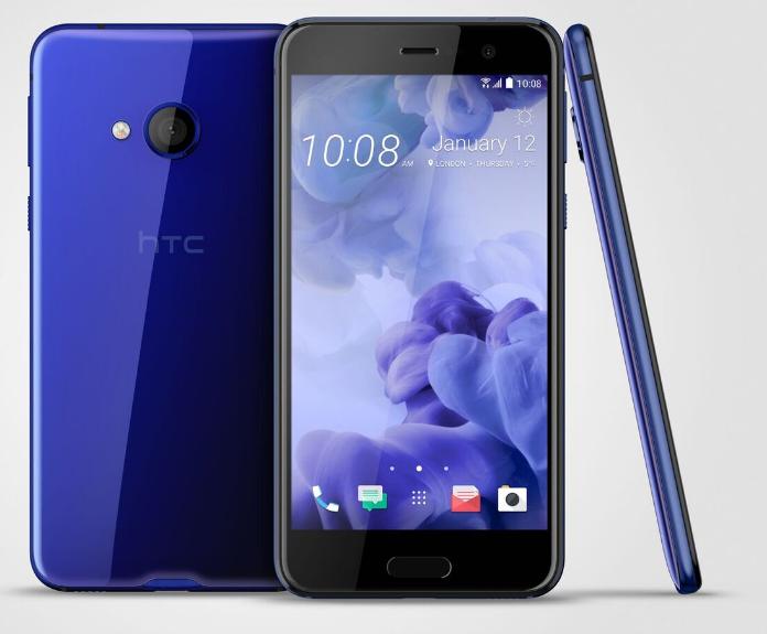 HTC U Play modrý