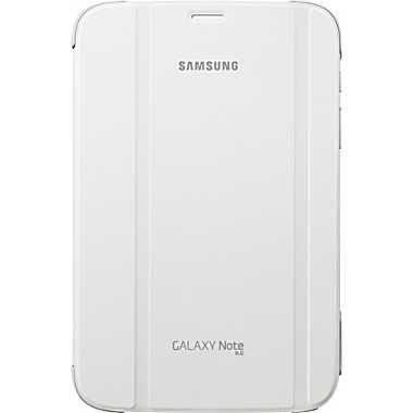 SAMSUNG polohovací pouzdro EF-BN510BW pro Galaxy Note 8 (N5100 / N5110), bílá