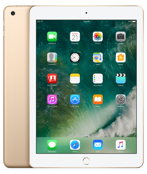 Apple iPad Cellular + Wi-fi 32GB zlatý