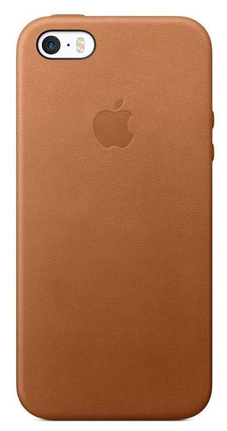 Apple iPhone SE Saddle hnědé kožené pouzdro