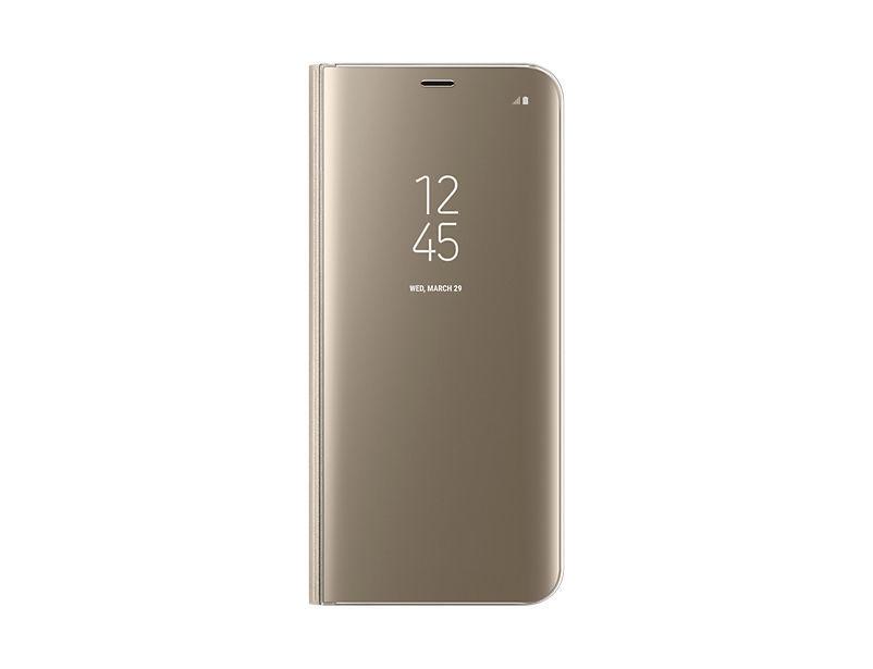 Samsung Clear View EF-ZG955 Galaxy S8+ zlaté