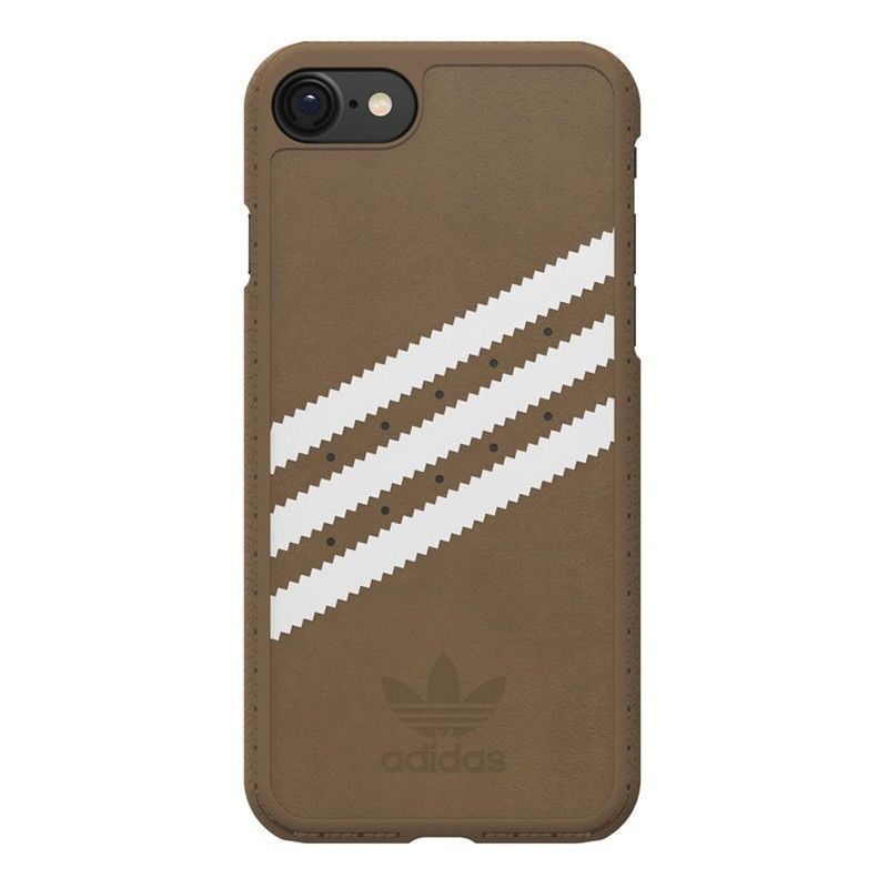 Adidas BI8048 iPhone 7 hnědý zadní kryt