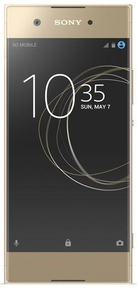 Sony Xperia XA1 zlatý + dárek Sony MDR-AS410AP černá zdarma