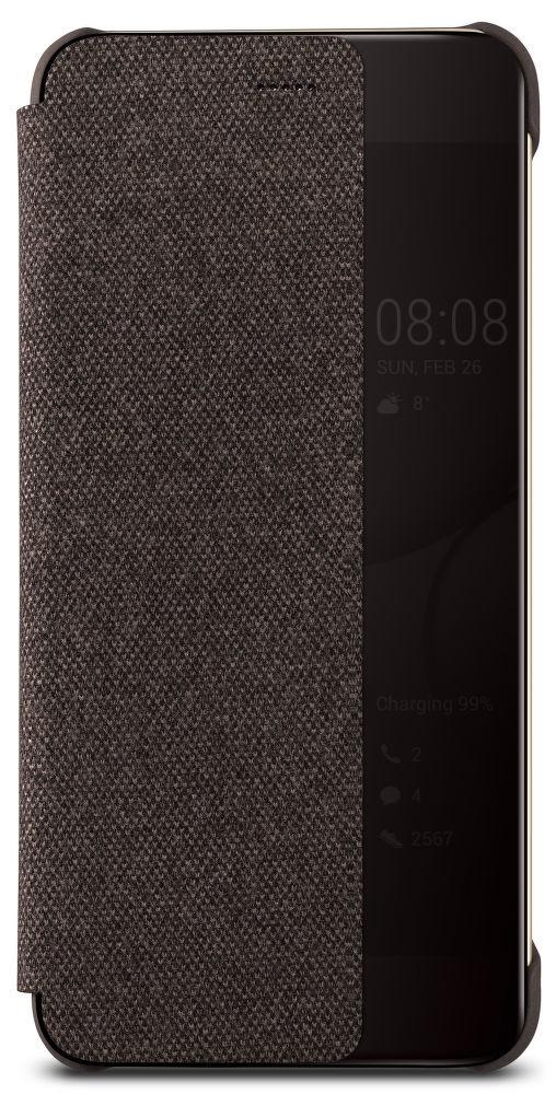 Smart View hnědé pouzdro na Huawei P10 +