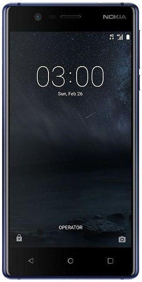 Nokia 3 Dual SIM modrý