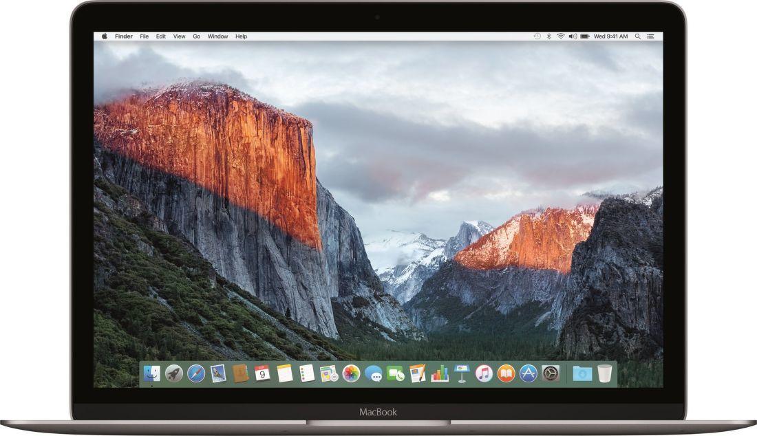 """Apple MacBook 12"""" Retina Core i5 1.3GHz 8GB 512GB Intel HD615 vesmírně šedý"""