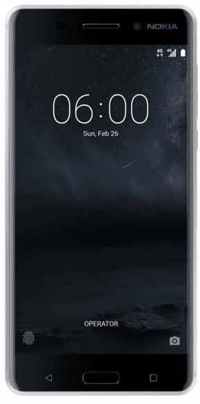 Nokia 6 Dual SIM stříbrný