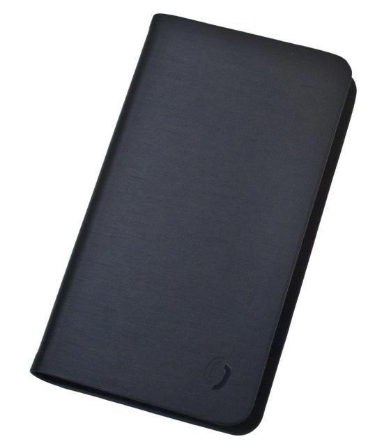 Aligator univerzální pouzdro Book Steel M černé