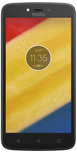 Lenovo Moto C Plus Dual SIM 1GB/16GB červený
