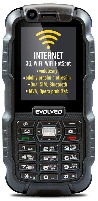 Evolveo StrongPhone WiFi (černý)