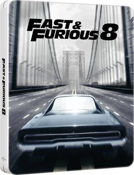 Rychle a zběsile 8 Steelbook - Blu-ray film