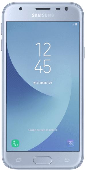 Samsung Galaxy J3 2017 Dual SIM stříbrný