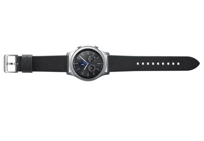 SAMSUNG Gear S3 černý kožený řemínek