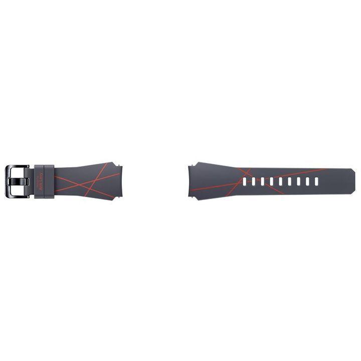 SAMSUNG Gear S3 modrý silikonový řemínek