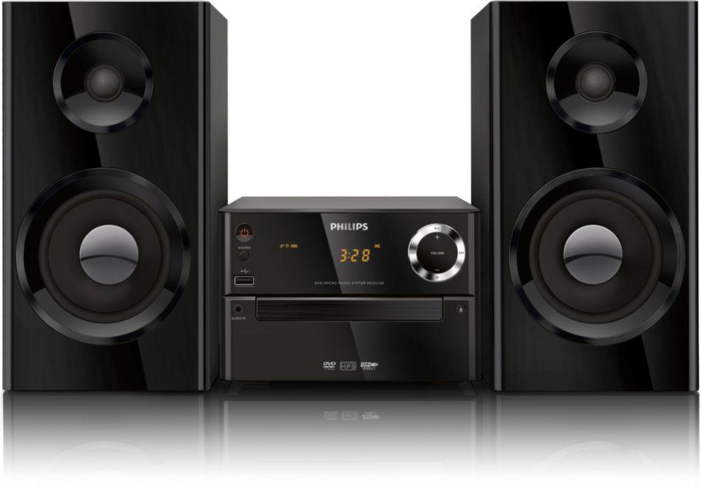Philips MCD2160 (černý)