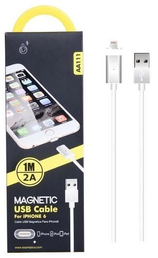 Aligator PLUS AA111 micro USB magnetický bílý