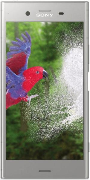 Sony Xperia XZ1, stříbrná